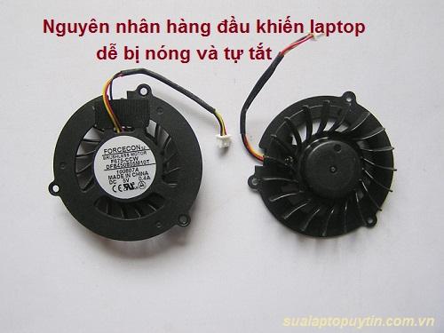 Hướng dẫn sửa laptop bị nóng và tự tắt