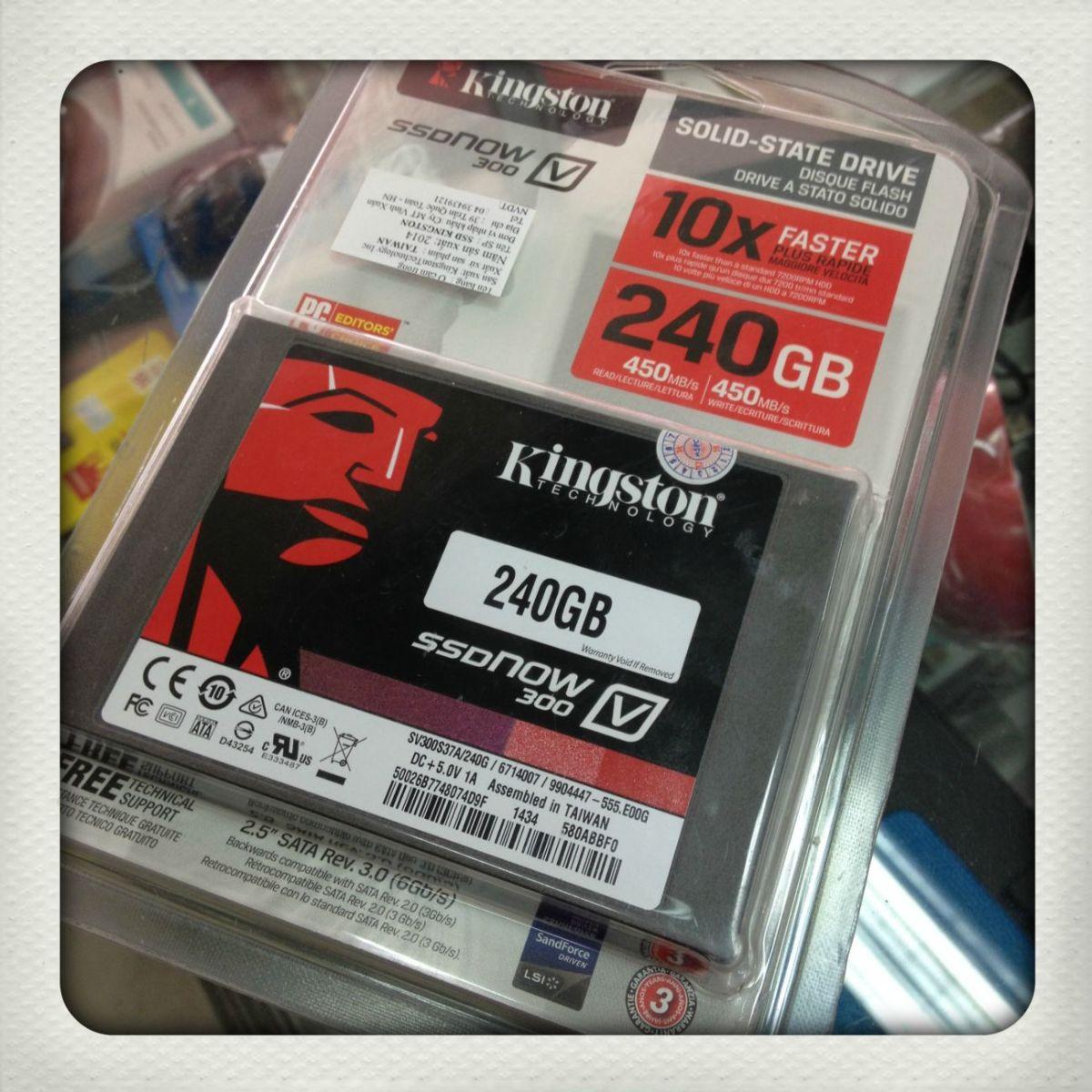 Nâng cấp Ổ cứng SSD 240GB Kington Sata III