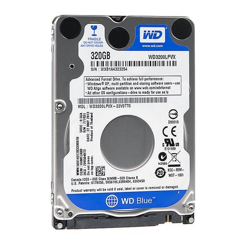 Mua bán ổ cứng HDD WD Blue WD3200LPVX 320GB cũ