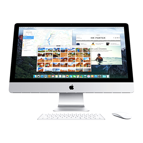 Sửa máy tính All In One Apple iMac MK142ZP/A 21.5 inches uy tín hà nội