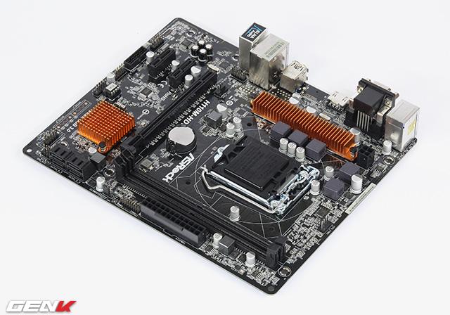 Sửa chữa mainboard Asrock H110M-HDV uy tín hà nội