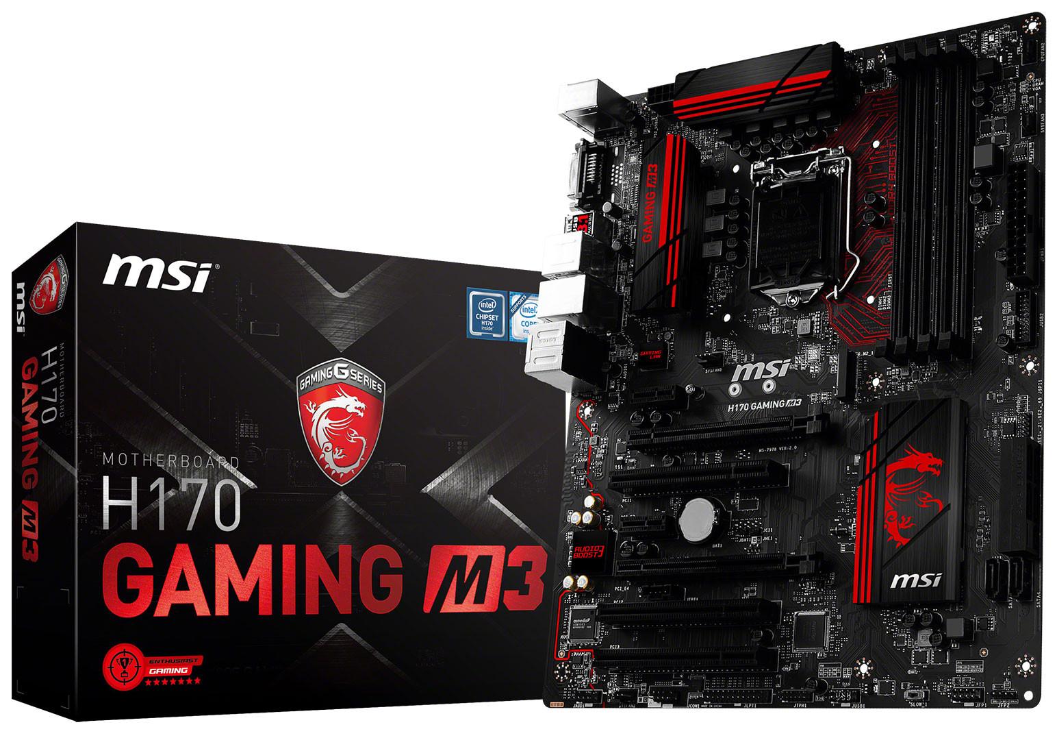 Sửa chữa mainboard MSI H170 Gaming M3 uy tín hà nội