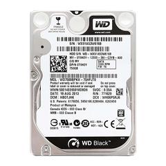 Sửa cứu dữ liệu ổ cứng HDD WD Black 750GB uy tín hà nội