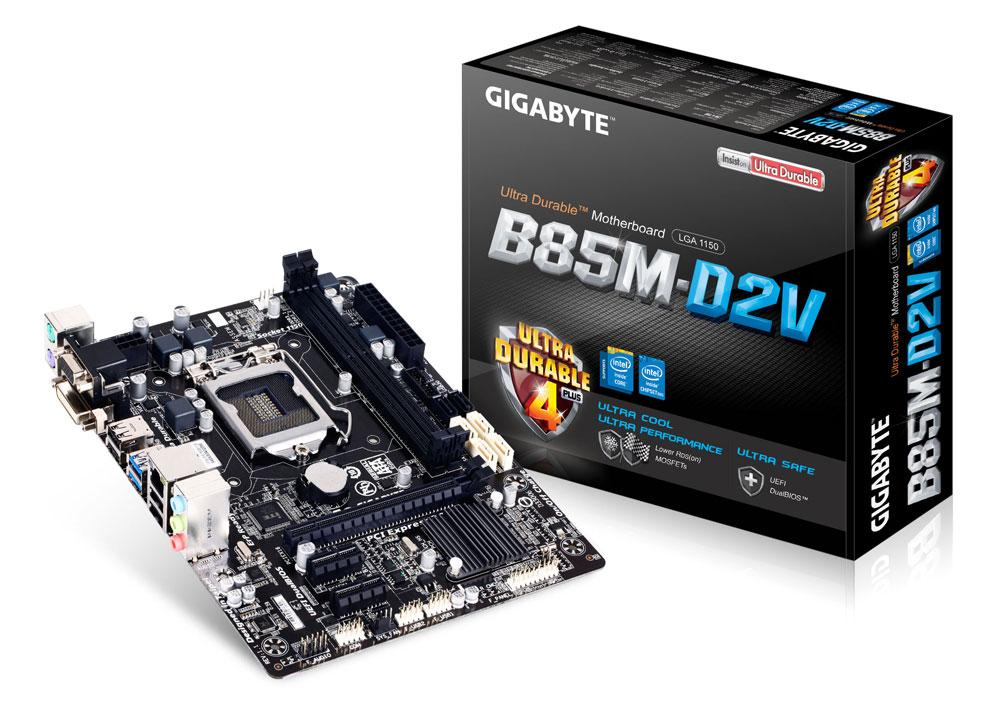 Mua bán cây máy tính cũ Gigabyte B85M-D2V, CPU Intel Pentium G2020, Ram 8Gb