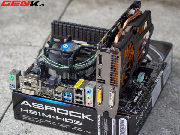 Mua bán Mainboard cây máy tính để bàn Asrock mATX H81M-DGS cũ