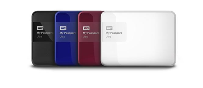 Sửa ổ cứng di động WD My Passport Ultra Blue 1TB USB 3.0