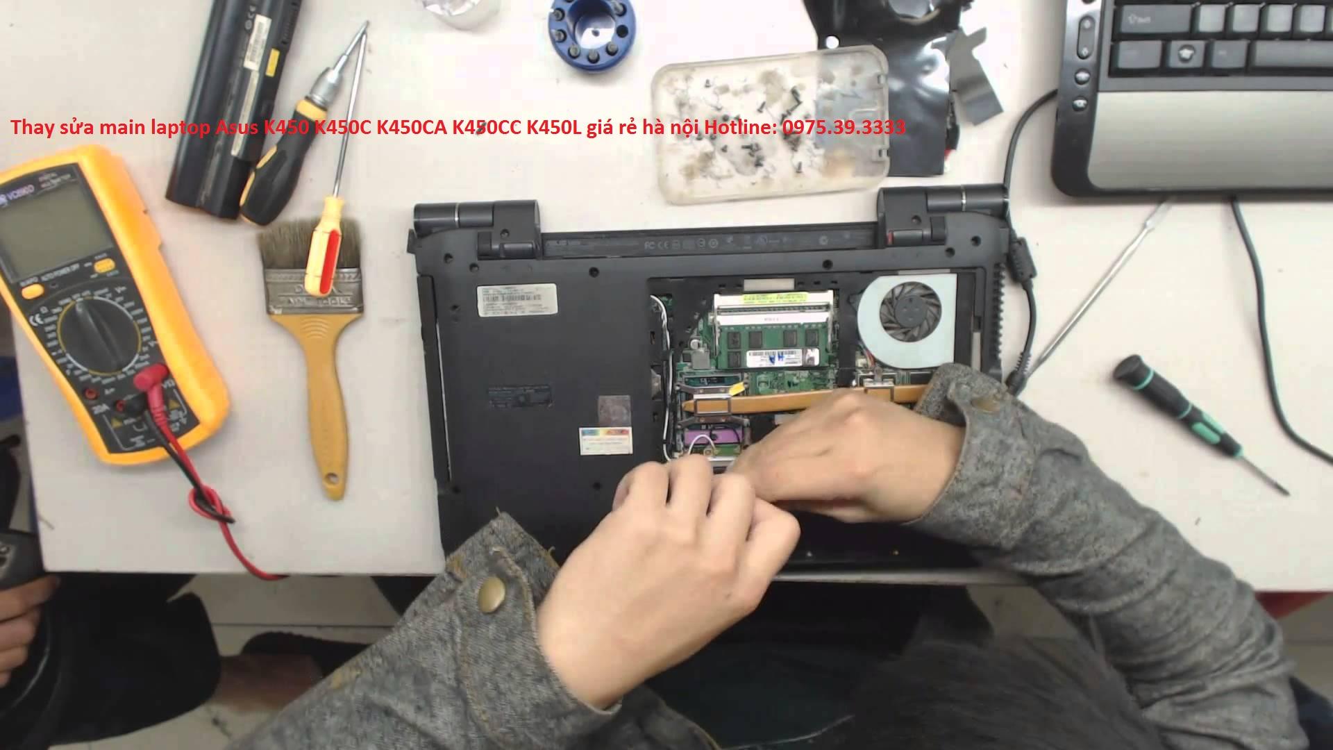 Thay sửa main laptop Asus K450 K450C K450CA K450CC K450L giá rẻ hà nội