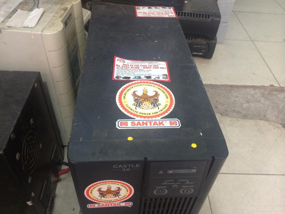 Công ty sửa bộ lưu điện UPS SANTAK tại Hà Nội