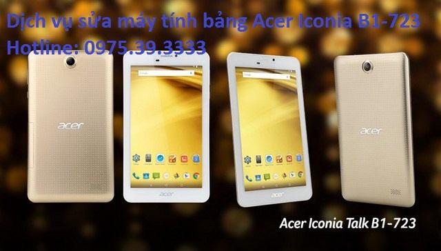 Dịch vụ sửa máy tính bảng Acer Iconia B1-723, thay màn hình cảm ứng