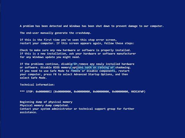 Lỗi màn hình máy tính màu xanh phải làm sao?