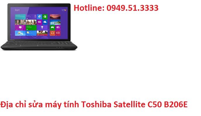 Địa chỉ sửa máy tính Toshiba Satellite C50 B206E