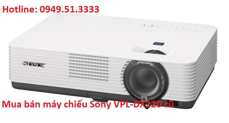 Mua bán máy chiếu Sony VPL-DX220 cũ dùng tốt tại hà nội