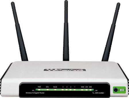 TP-LINK TL-WR1043ND 300Mbps