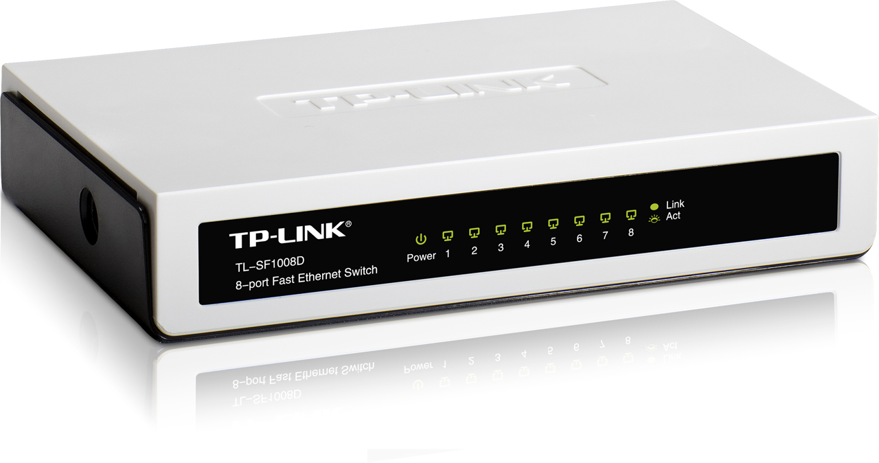 Switch TP-Link 8 port TL-SF1008D