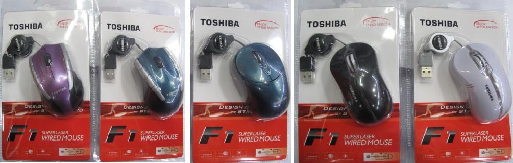 Chuột quang dây rút Toshiba 6605 cổng USB