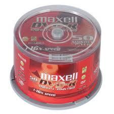 Đĩa trắng DVD Maxell 4,7Gb