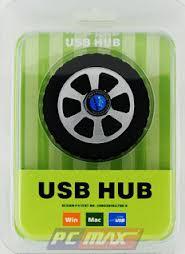 Hub USB 2.0 1 to 4 bánh xe loại 2