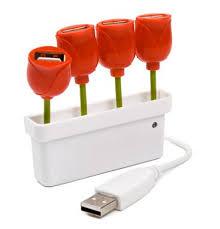 USB Hub Tulip 1 ra 4 cổng