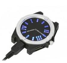 Hub USB 1 to 4 port Watch Style