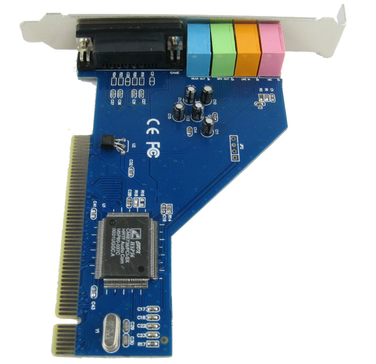 Card sound PCI 5.1