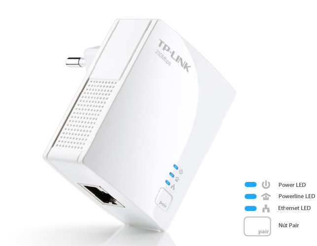 Bộ chuyển đổi Mạng LAN qua đường điện 220V TL-PA2010KIT