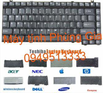 Thay sửa bàn phím laptop acer aspire 4552
