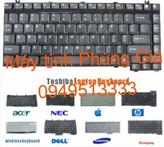 Thay bàn phím laptop Acer Travelmate  5520