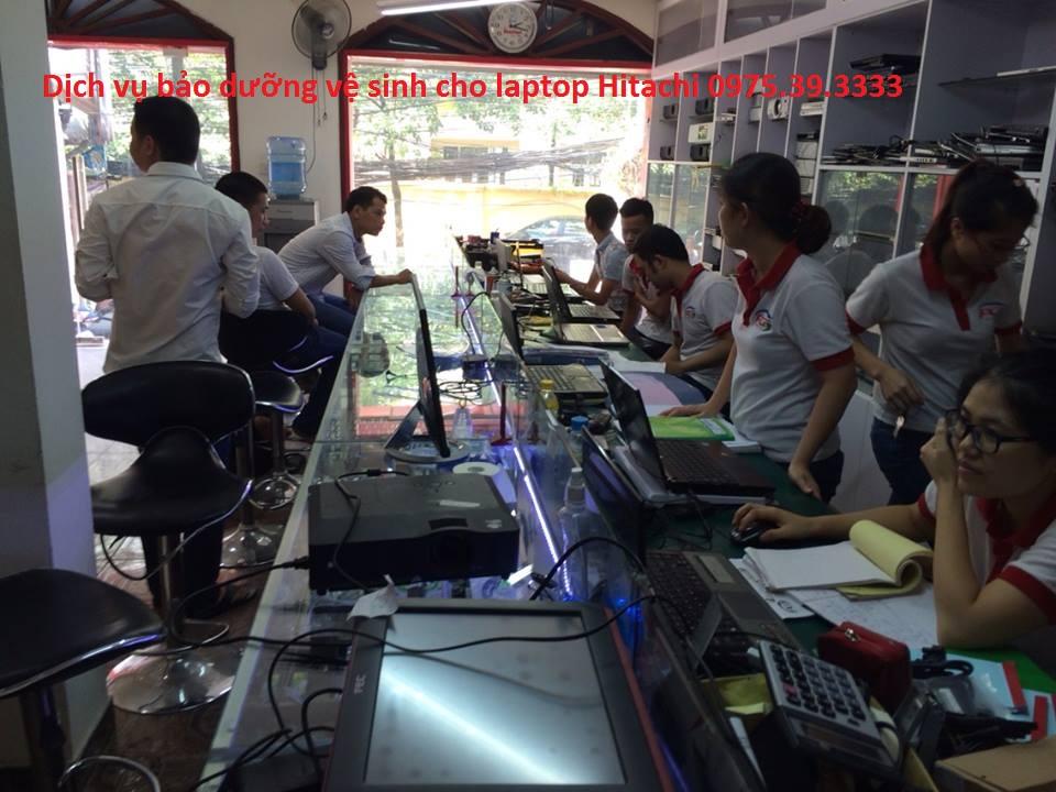 Dịch vụ bảo dưỡng vệ sinh cho laptop Hitachi