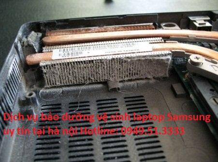 Dịch vụ bảo dưỡng vệ sinh laptop Samsung