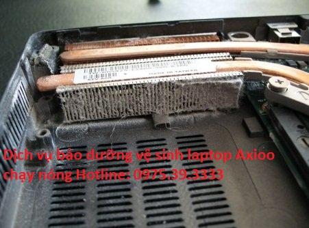 Dịch vụ bảo dưỡng vệ sinh laptop Axioo chạy nóng