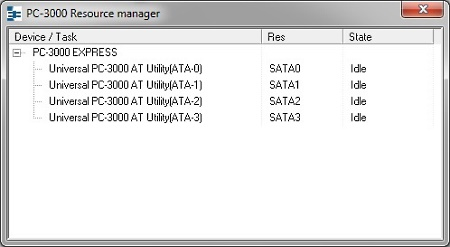 PC-3000 Express Resource Manager