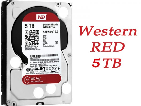 Sửa Ổ cứng HDD WD Red WD50EFRX 5TB