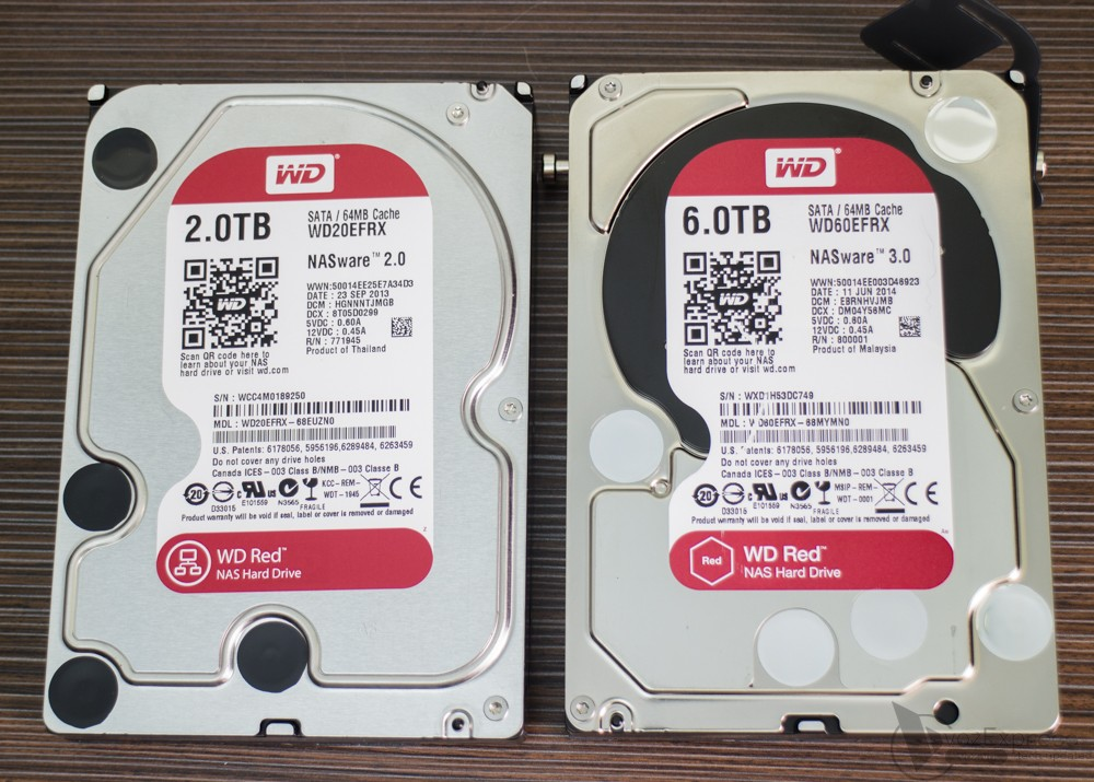 Sửa Ổ cứng HDD WD Red WD60EFRX 6TB